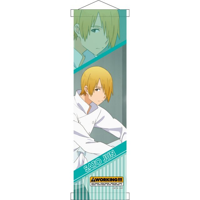 Working!!! Mini Wall Scroll: Satou Jun