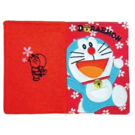 Doraemon Passport Cover: Red