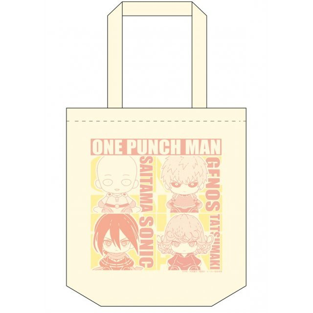 Purisshu One-Punch Man Tote Bag
