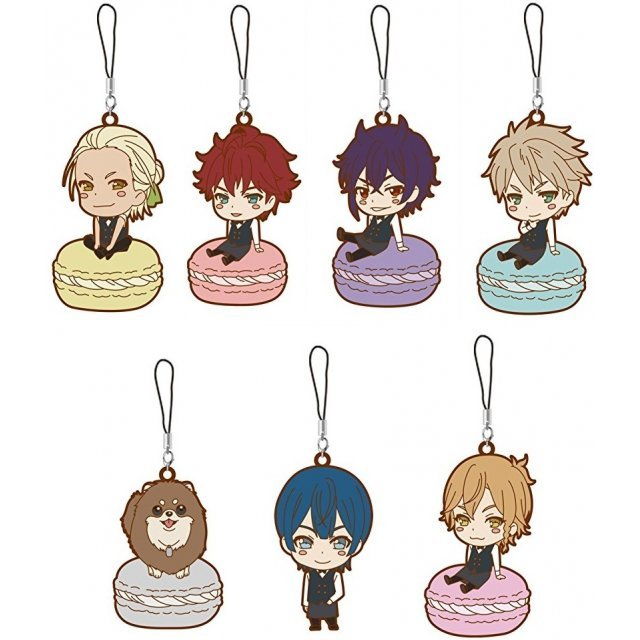 Dance with Devils Trading Rubber Strap (Set of 7 pieces)
