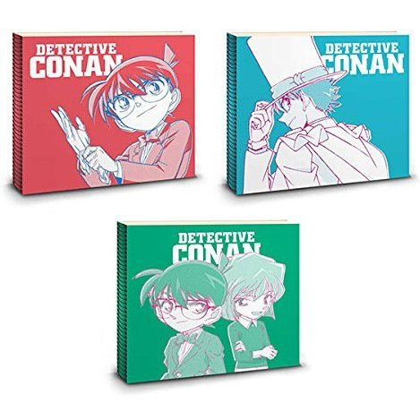 Detective Conan Croquis Book (Set of 4 pieces)