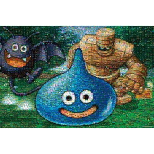 Dragon Quest 1000 Pieces Jigsaw Puzzle Mosaic Art