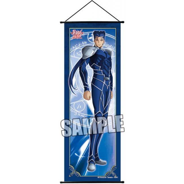 Fate/stay night Unlimited Blade Works Slim Tapestry: Lancer