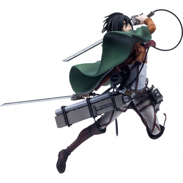Hdge Technical Statue No. 5 Attack on Titan: Mikasa Survey Corps Ver.