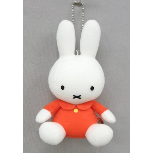 Miffy Mini Mascot Plush: Orange