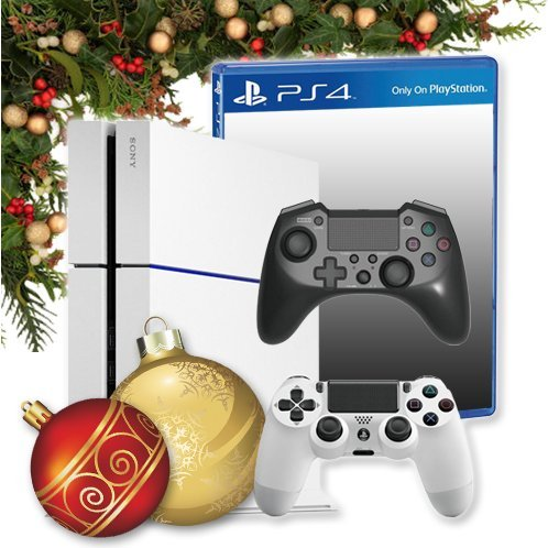 Playstation 4 Holiday Bundle (PS4 + Hori FPS Plus + Free Game)
