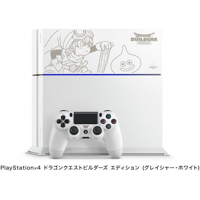 PlayStation 4 System [Dragon Quest Builders Limited Edition] (Glacier White)