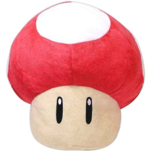 Super Mario Oversized Plush: Super Mushroom
