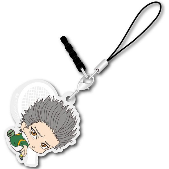 The New Prince of Tennis Bocchi-kun Acrylic Charm: Akutsu Jin