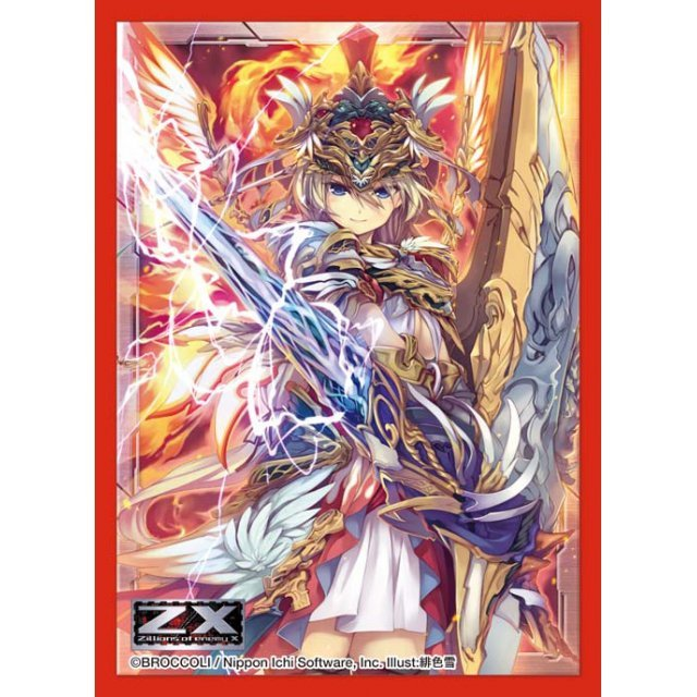 Z/X Zillions of Enemy X Character Sleeve Collection: Patron Goddess of Thunder Flame, Athena