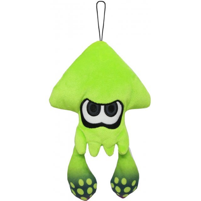 Splatoon All Star Collection Plush: Lime Green Splatoon Squid (S)