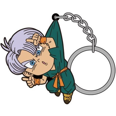 Dragon Ball Super Tsumamare Keychain: Trunks Fusion Ver.