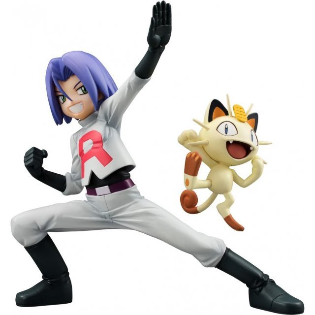 G.E.M. Series Pocket Monsters Pre-Painted Figure: James & Meowth (Re-run)