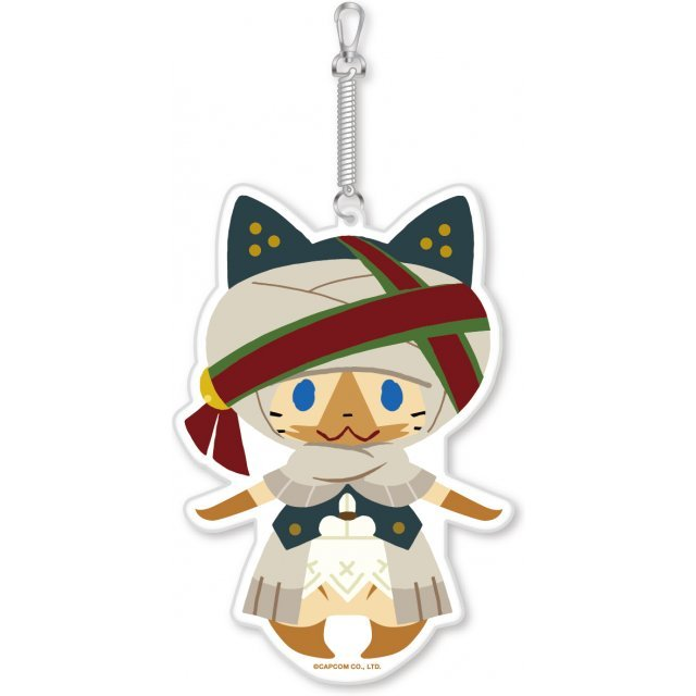 Monster Hunter X Diecut Pass Case: Werder Neko