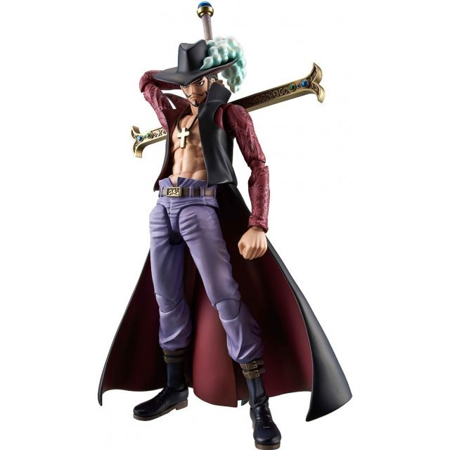 Variable Action Heroes One Piece Pre-Painted Action Figure: Dracule Mihawk