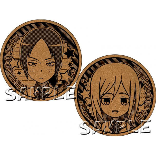 Attack on Titan Junior High Cork Coaster: Ymir & Krista