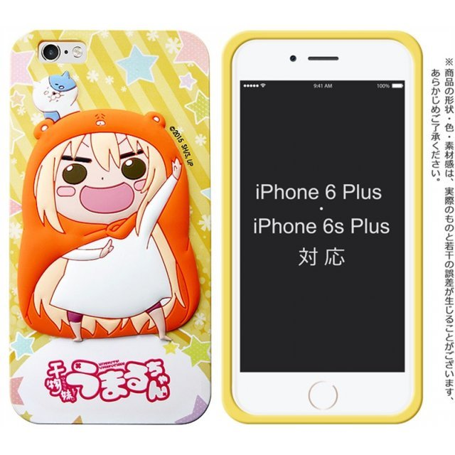 Himouto! Umaru-chan Silicon Jacket Soft Rubber Smartphone Case for iPhone 6Plus/6sPlus: Umaru-chan