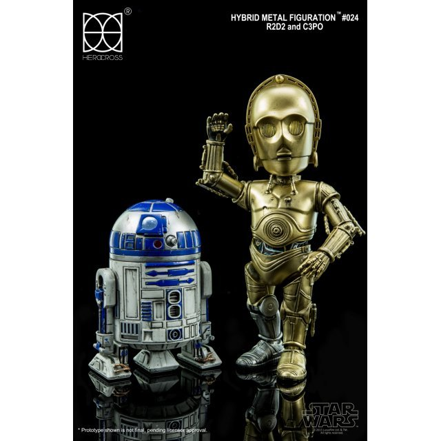 Star Wars Hybrid Metal Figuration: R2-D2 and C-3PO