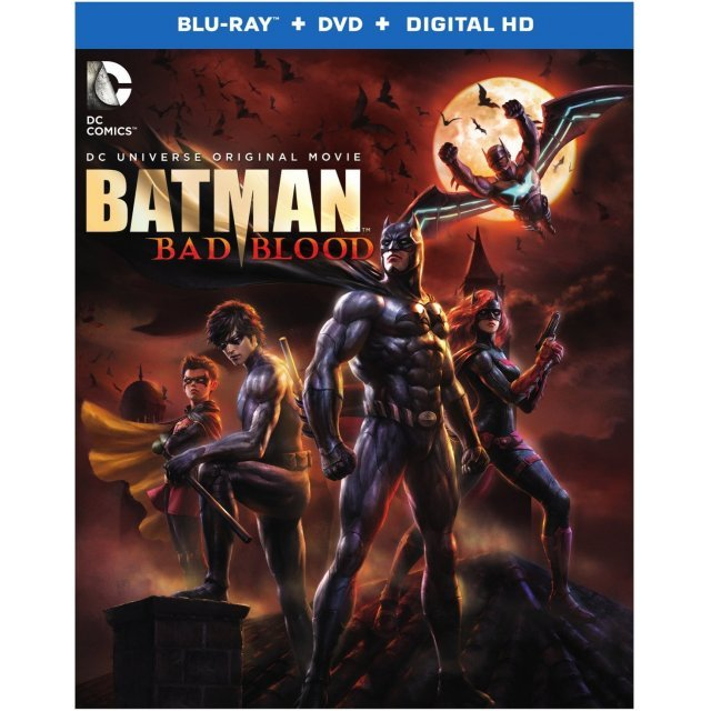 DC Universe Original Movie: Batman - Bad Blood [Blu-ray+DVD+UltraViolet]