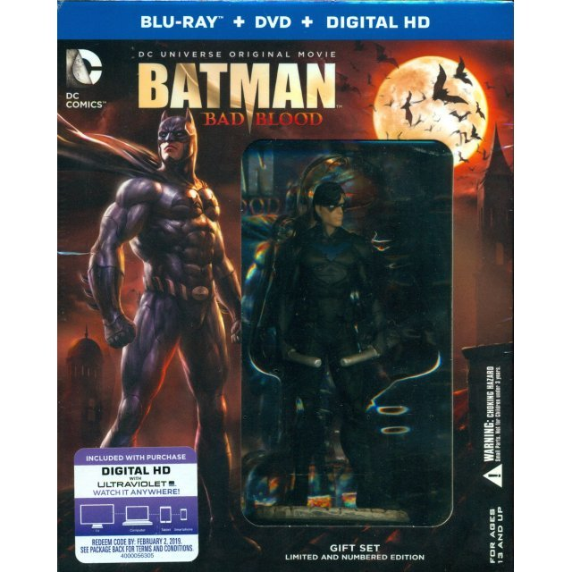 DC Universe Original Movie: Batman - Bad Blood (Deluxe Edition)