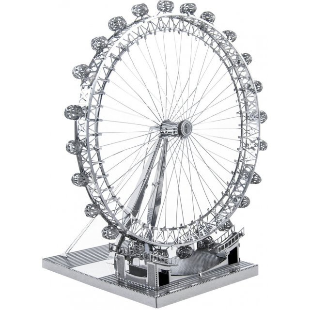 Metallic Nano Puzzle Premium Series: London Eye