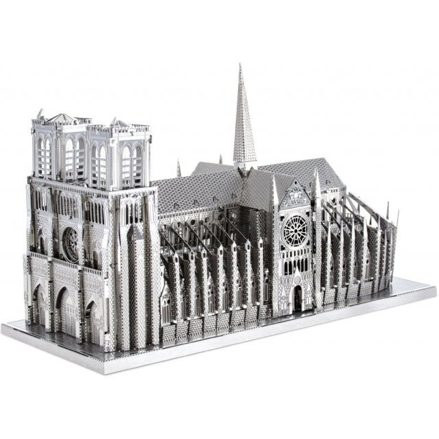 Metallic Nano Puzzle Premium Series: World Heritage Notre Dame Cathedral