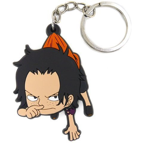 One Piece Tsumamare Keychain: Ace Childhood Ver.