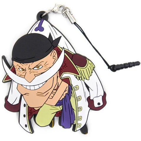One Piece Tsumamare Strap: Whitebeard