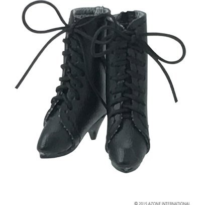 Pureneemo 1/6 Scale Original Costume M Size: Classical Middle Boots (Black)