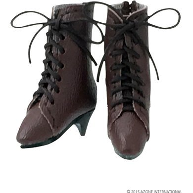 Pureneemo 1/6 Scale Original Costume M Size: Classical Middle Boots (Brown)