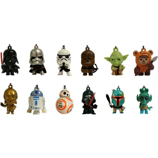 Star Wars Character Bag Clip Series 1 (Random Single)