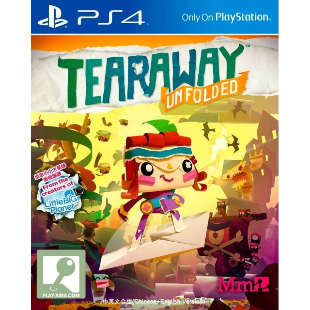 Tearaway Unfolded (Greatest Hits) (Chinese & English Sub)