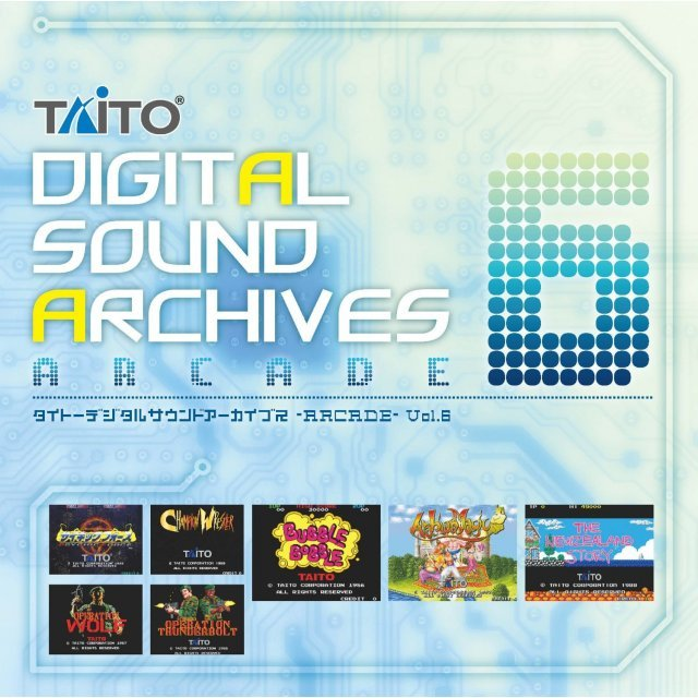 Taito Digital Sound Archive - Arcade Vol.6