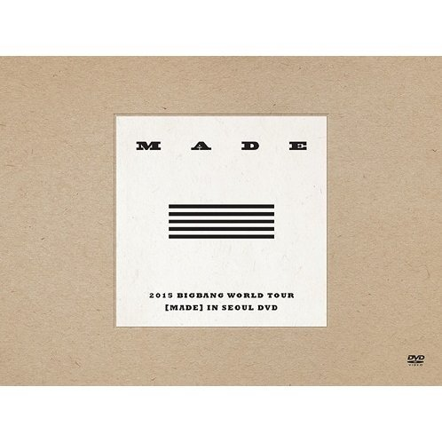 2015 Bigbang World Tour [Made] In Seoul Dvd [4DVD+2CD Limited Edition]