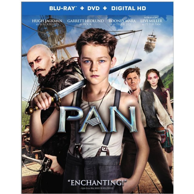 Pan [Blu-ray+DVD+Digital HD]