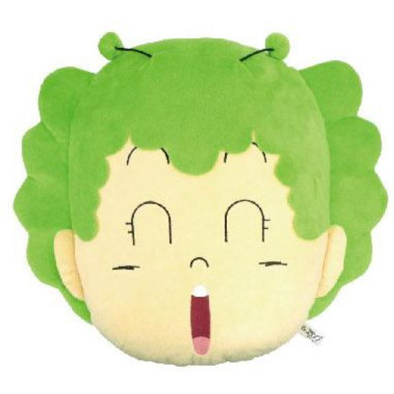Dr. Slump Arare-chan Face Cushion: Gatchan