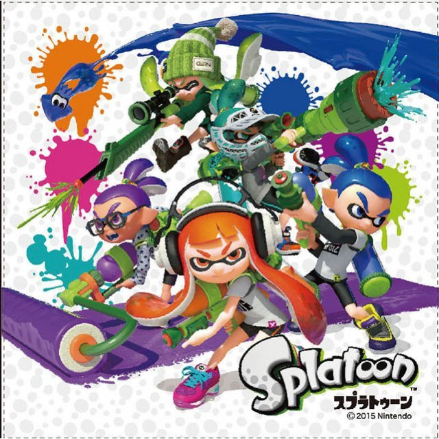 Splatoon Lunch Cloth SPT-114: Group