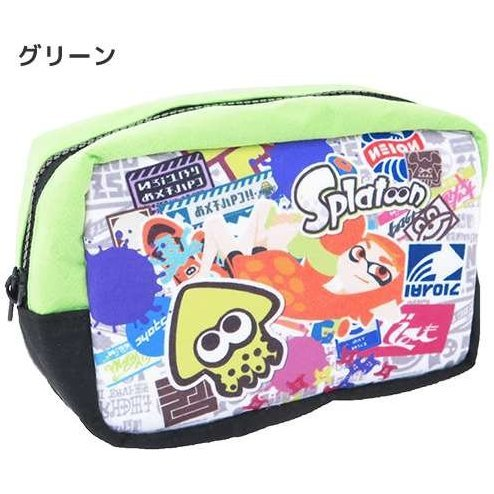 Splatoon Square Pouch: Girl Green