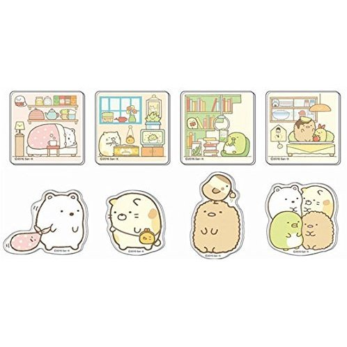 Sumikko Gurashi Acrylic Badge (Set of 8 pieces)
