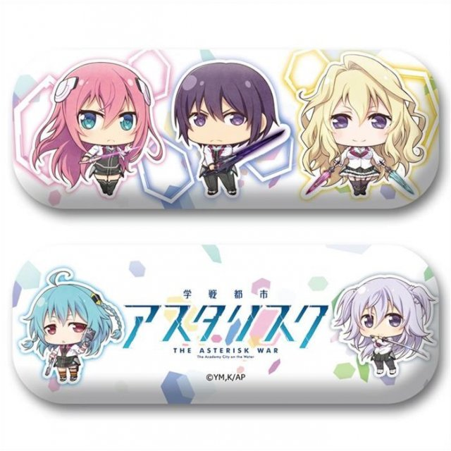 The Asterisk War Glasses Case & Microfiber Cloth Set