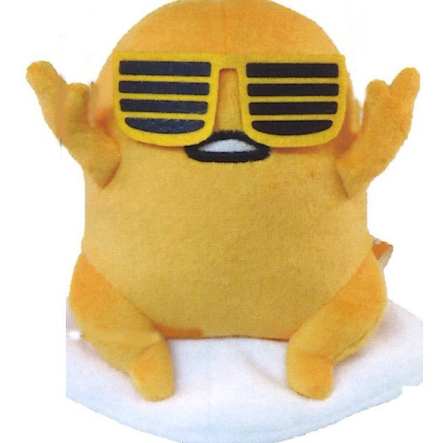 Gudetama Plush (S) 4 Put Your Hands Up