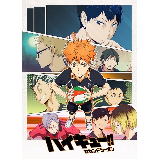 Haikyu!! Second Season Mofu Mofu Lap Blanket Key Visual