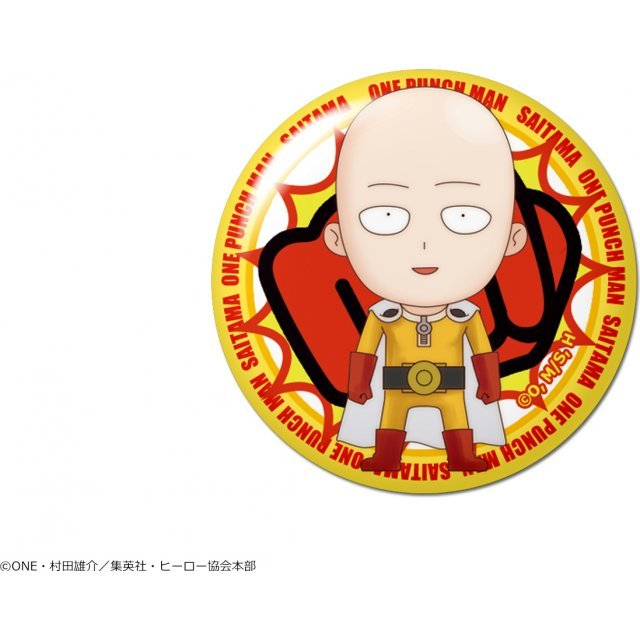 One-Punch Man Dome Magnet: Design 01 Saitama