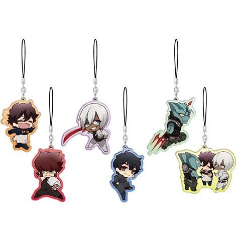 Blood Blockade Battlefront Pearl Acrylic Collection (Set of 6 pieces)