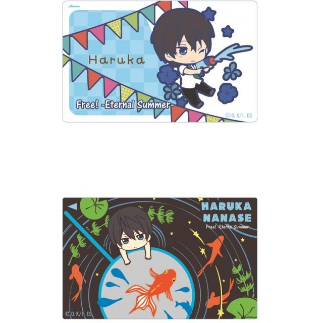 Free! -Eternal Summer- IC Card Sticker Toy's Works Collection 2.5 Sisters: Nanase Haruka