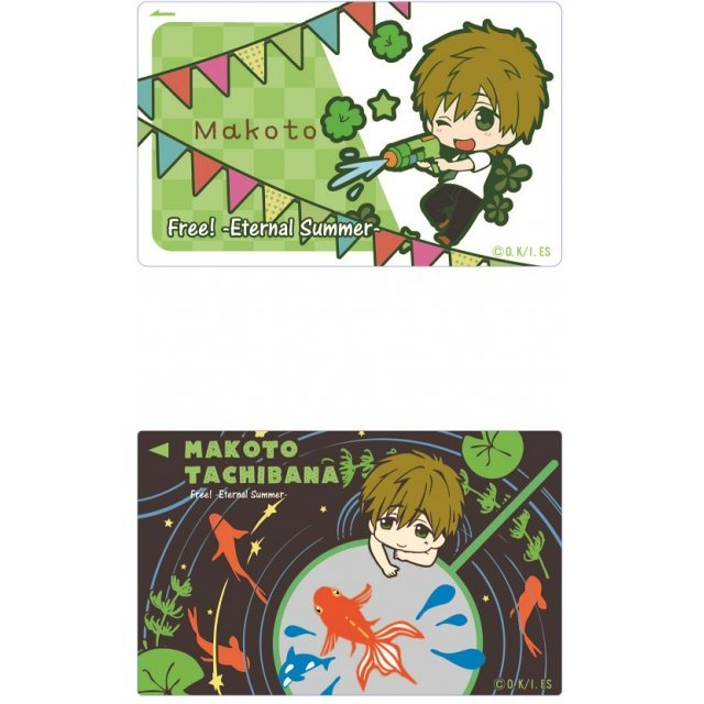 Free! -Eternal Summer- IC Card Sticker Toy's Works Collection 2.5 Sisters: Tachibana Makoto