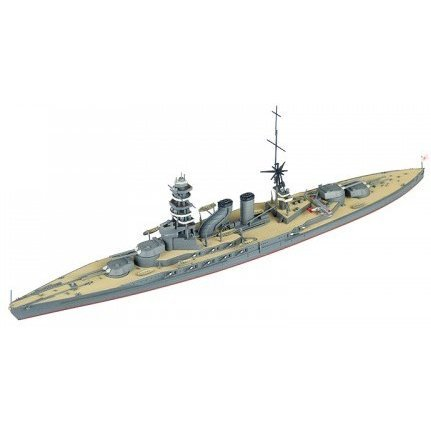 Kantai Collection No. 27 1/700 Scale Model Kit: Kanmusu Battleship Nagato Bent Chimney
