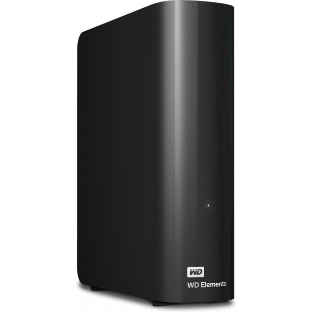 Western Digital Elements Desktop 4TB, USB 3.0