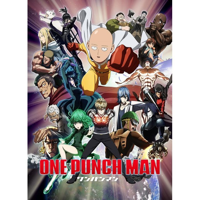 One-Punch Man Mofu Mofu Lap Blanket Key Visual
