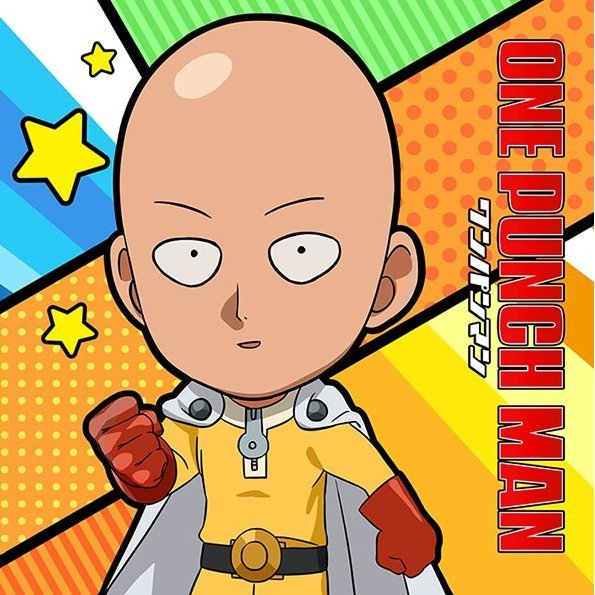 One-Punch Man Mofu Mofu Mini Towel: Saitama
